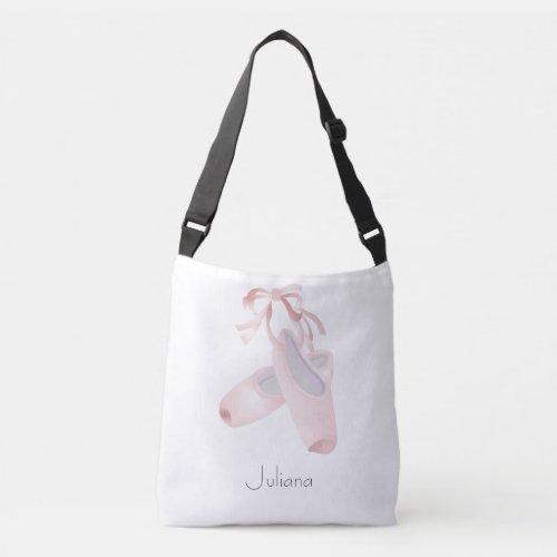 Kids Ballet Dance Personalized Crossbody Bag
