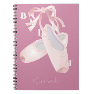 Kids Ballet Personalized Notebook