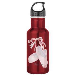 Kids Ballet Personalized Water Bottle