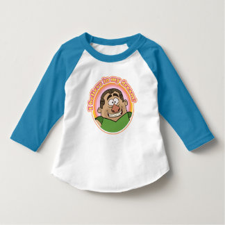 Kid's Baseball Tee: I BELIEVE IN MY DREAM! T-Shirt