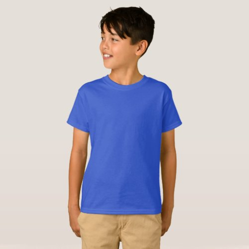 Kids Basic Add Artwork Add Picture Create It T_Shirt