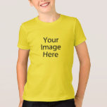 "Kid's Basic American Apparel T-Shirt<br><div class=""desc"">Create your own Kids' Basic American Apparel T-Shirt. Use the design tool to upload your art, designs, or photos to create a unique Kids' T-Shirt! You can also add text using cool fonts and see a preview of your creation. Our simple to personalize Kids' T-Shirt has no minimum orders &...</div>"
