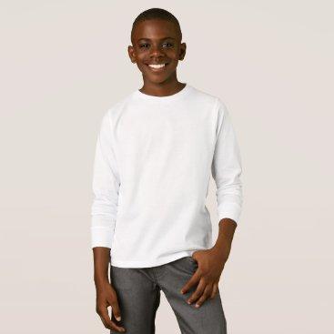 Beach Themed Kids' Basic Long Sleeve T-Shirt