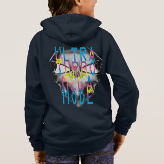 Kids BASIC zip hoodie with design ULTRA