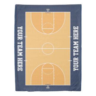 Kids Basketball Duvet Cover
