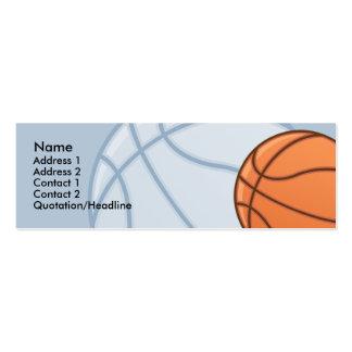 Kids Basketball Skinny Profile Cards