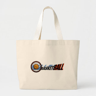 Kids Basketball Tote Bag