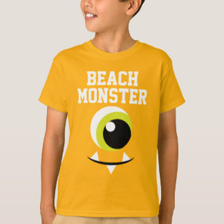 Kid's Beach Monster Summer T-shirt