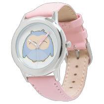 Kid's Bezel Stainless Steel Watch/Owl Watch