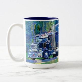 Kids Big Rig Cargo Truck Drinking Mug