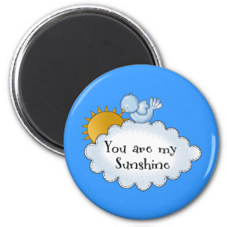 Kid's Bird Sun You Are My Sunshine Magnet