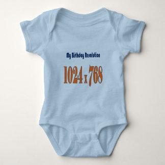Kids birthday baby bodysuit
