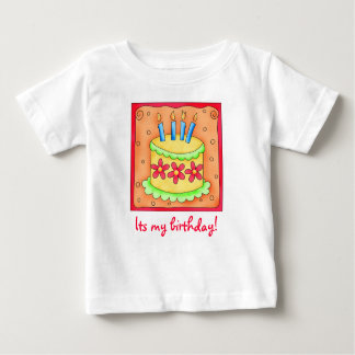Kid's Birthday Cake Tee Shirt