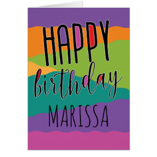 Kids Birthday Card with Name