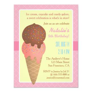 ice cream birthday invitations & announcements | zazzle, Party invitations