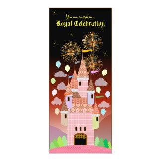 Kids Birthday Invitation 029: Castle IIB