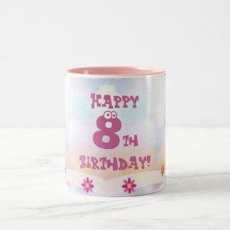Kids Birthday Two-Tone Coffee Mug
