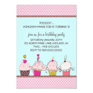 "Kids Birthday Party Invitations 5"" X 7"" Invitation Card"