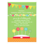 Kids Birthday Party Invitations (Candy Theme)