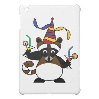 Kids birthday party: Raccoon iPad Mini Cases