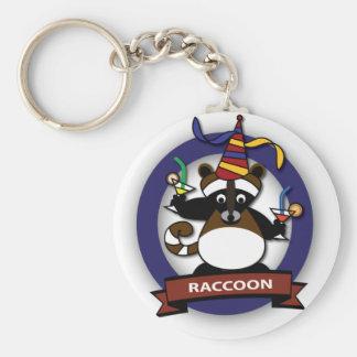 Kids birthday Party: Raccoon Keychain