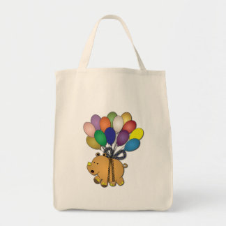 Kids birthday Party: Rhino Grocery Tote Bag