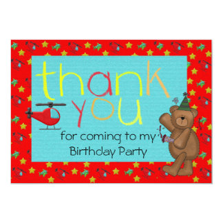 Childrens Thank You Notes Gifts On Zazzle - Children's birthday thank you notes