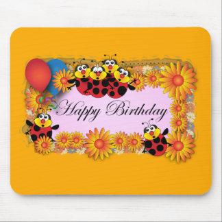 Kids Birthday themes: 039 Ladybugs Mouse Pad