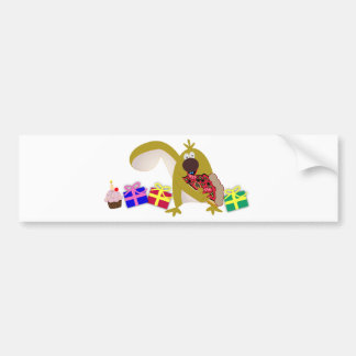 Kids Birthday themes: 041 Squirrel Bumper Sticker