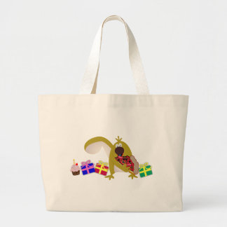 Kids Birthday themes: 041 Squirrel Large Tote Bag