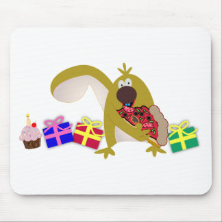 Kids Birthday themes: 041 Squirrel Mouse Pad