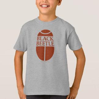 Kids Black Beetle logo shirt
