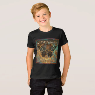 Kids' Black Butterfly T-Shirt