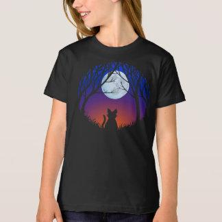 Kid's Black Cat T-shirt Fat Cat Kid's Tee Shirt