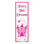 Kid's Bookmark Girls Fairy Tales Business Card Template