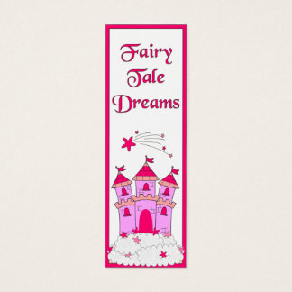 Kid's Bookmark Girls Fairy Tales Mini Business Card