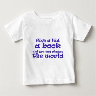 Kids + Books = World Change Shirt