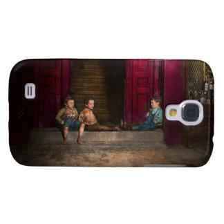 Kids - Boston MA - Jest hanging around 1909 Galaxy S4 Case