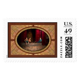 Kids - Boston MA - Jest hanging around 1909 Postage Stamp