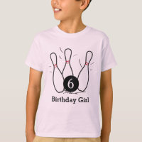 Kids Bowling Birthday Shirt