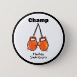 Kids Boxing Champ Customisable Button
