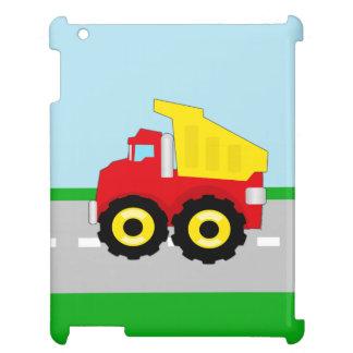Kids Boys Construction Dumptruck iPad Case