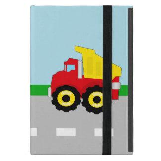 Kids Boys Construction Dumptruck iPad Mini Cover