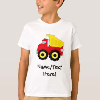 Kids Boys Construction Dumptruck T-Shirt