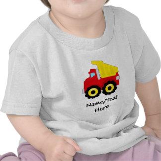 Kids Boys Construction Dumptruck Tshirt