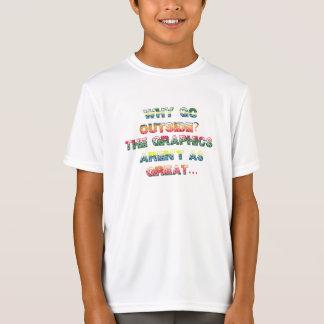 Kids Boys Funny Video Game Gamer Shirt
