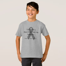 Kids Brain Tumor Survivor t-shirt