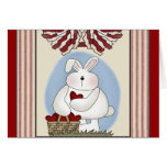 Kids Bunny Rabbit T Shirts and Gifts Greeting Cards