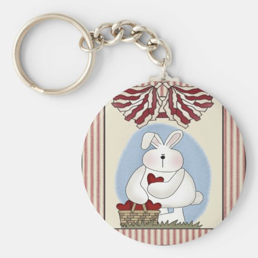Kids Bunny Rabbit T Shirts and Gifts Key Chains