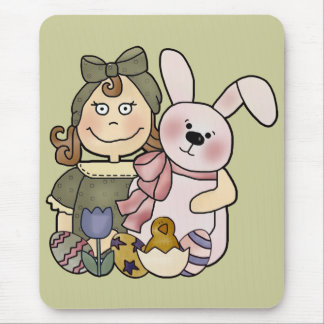 Kids Bunny Rabbit T Shirts and Gifts Mouse Mat